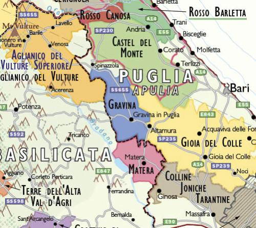 Italy Map Of Regions.Italian Wine Regions Maps