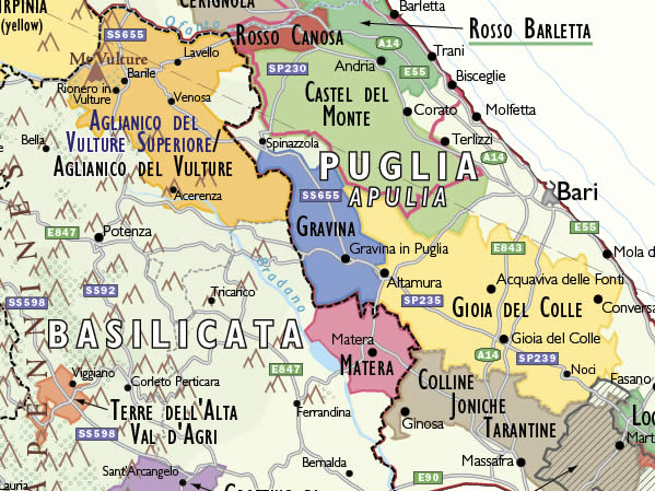 Puglia Wine Food Pairing